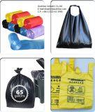 Пластичный мешок упаковки отброса печатание цвета