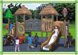 Children (KQ35008A)를 위한 고대 Tree House Outdoor Playground