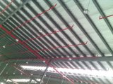강철 구조물 작업장 내부 배치