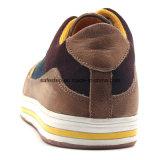 Chaussures de sûreté de type de sport de cuir véritable de poids léger