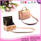 Dame Bag Shape PU Leather Beautycase (8087)