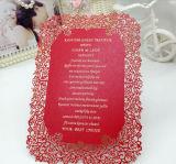 Причудливый западные карточки приглашений бумажного венчания