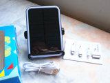 Chargeur solaire de côté de pouvoir de téléphone mobile du meilleur modèle avec le brevet