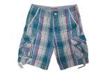 Cortocircuitos Pocket del cargo de Mulit de los hombres del algodón para el deporte ocasional
