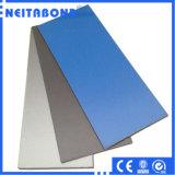 El panel compuesto de aluminio revestido superventas ACP Acm de PVDF para hacer publicidad de la tarjeta