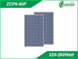 Poly panneau solaire 220W cristallin à haute efficacité