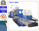 Torno horizontal resistente del CNC para dar vuelta al rodillo de acero de 20 T (CK61160)