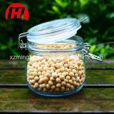 Vaso di vetro dell'alimento del vaso promozionale di memoria per il vaso di vetro chiuso ermeticamente della caramella