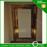 304 Steel inoxidable Decorative Sheets Door Frame para Hotel Decoration