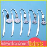 Einfaches konzipiertes silbernes Metallleerzeichen-Bookmark