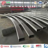 Tubo d'acciaio del quadrato inossidabile dell'acciaio senza giunte 201