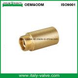 Capezzolo maschio di lucidatura d'ottone di qualità/adattarsi (IC-90026)