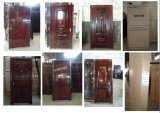 Seguridad Acero Apartamento puerta de entrada (BG-S9202)
