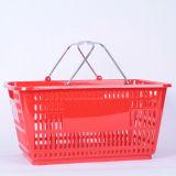 28L Plastic Basket pour le magasin