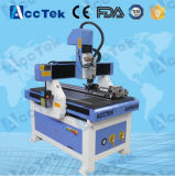 Heißes neues Produkt! DSP 4 Mittellinie hölzerner CNC-Fräser/Schreibtisch 3D CNC-Fräser mit doppeltem CNC Kopf/Mach3