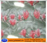 Blume gedruckter Entwurf PPGI in den Ringen