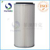 Фильтр уборщика воздуха сборника пыли Filterk плиссированный