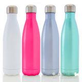 Bottiglia di vuoto della bottiglia di vuoto della bottiglia di acqua del metallo dell'acciaio inossidabile