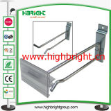 Sostenedor colgante de la barra de acero de barra del metal de acero del tubo para los estantes