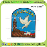 Ricordo promozionale personalizzato Gerusalemme (RC-IL) dei magneti del frigorifero del PVC dei regali della decorazione