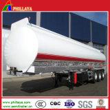 Tri-Wellen 45000L Kohlenstoffstahl-Kraftstoffvorrat-halb Schlussteil-/Oil-Tanker