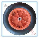 3.25/3.008 pneumatisch RubberWiel met de Rand van het Plastiek of van het Staal