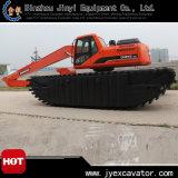 Amphibious Excavator Jyae-331를 가진 땅과 Water Dredging Excavator