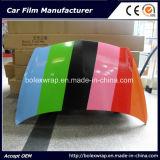 Film lustré de collant de véhicule d'enveloppe de vinyle de véhicule de vinyle auto-adhésif