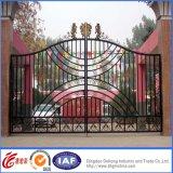 装飾用のデラックスな錬鉄の私道のスライド・ゲート
