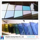 L'azzurro/colore/ha tinto il galleggiante/vetro riflettente temperato per costruzione