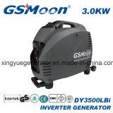 gerador silencioso super compato da gasolina do inversor 3.0kVA com Ce, GS, EPA, aprovaçã0 de PSE