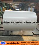 Bobina de acero blanca de PPGI con la película