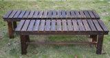 Cheap Price (M-X3021)를 가진 Wood 단단한 정원 Bench