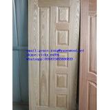 HDF/MDFによって形成されるベニヤのドアの皮の灰かチークまたはSapeliまたはカシのドアの皮