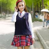 Uniformes scolaires de plaid, enfants d'uniformes scolaires, conceptions élevées d'uniforme scolaire