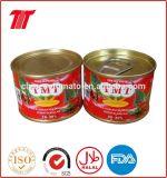 L'inserimento di pomodoro inscatolato marca dell'OEM di tutto gradua 70 secondo la misura G - 4.5kg