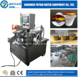 Cup rotativo Filling Sealing Machine per Water Liquids Jelly