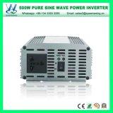 500W Omschakelaar van de Macht van de Golf van de Sinus AC220V van DC12/24V de Zuivere (qw-P500)