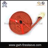 Certificat de protection contre les incendies Caoutchouc hydraulique en caoutchouc flexible renforcé renforcé en tressage