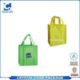 中国製携帯用織物のショッピング・バッグ