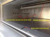 Forno di gas del cassetto della piattaforma 6 della macchina per panetteria dei commerci all'ingrosso 3