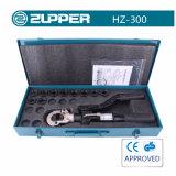 ひだを付けるための油圧圧着工具範囲16-300mm2 (Hz300)に