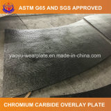 Carburo del cromo que reviste en duro la placa del desgaste para el compartimiento de la explotación minera