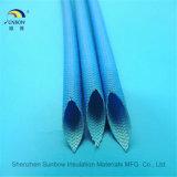 De Met een laag bedekte Glasvezel Sleeving van het silicone Rubber voor de Bescherming van de Kabel van de Uitrusting van de Draad