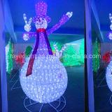 큰 LED 주제 점화 에펠 탑 크리스마스 옥외 훈장