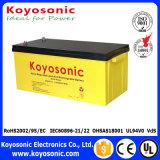 batterie profonde de gel de cycle de batterie à énergie solaire de cinq ans de la garantie 12V 180ah