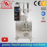 磨き粉酢またはジュースまたはソースまたはクリームまたはオイルの液体の形のトマトのりのパッキング機械