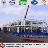 Construction de bâti en acier préfabriquée pour le parking/garage en acier