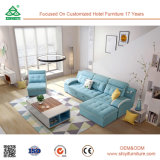 für Wohnzimmer-industrielles hölzernes Luxuxsofa