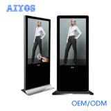 киоск Signage 32 43 55 цифров экрана касания LCD дюйма свободно стоящий рекламируя